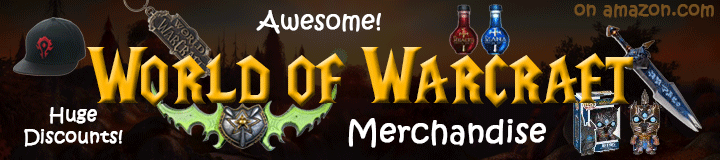 Buy Awesome World of Warcraft Merchandise Today!